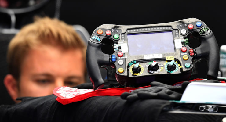 Rosberg im Safety-Car-Modus